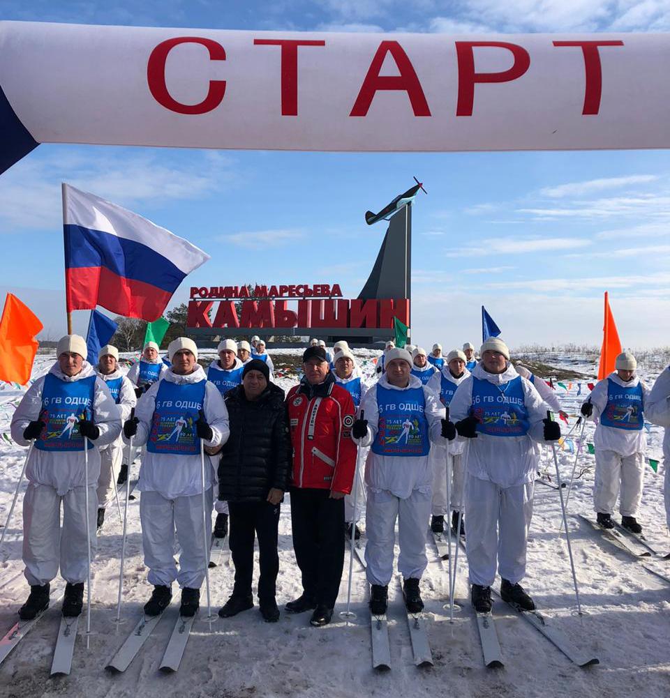 марш-бросок, посвященный 75-летию Победы в ВОВ